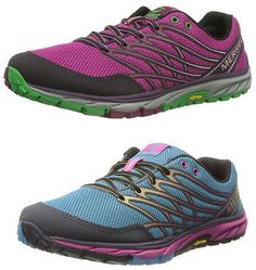 Women's Merrell Bare Access Trail Barefoot Running Shoes Trainers