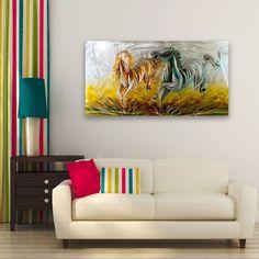 Realizat manual, din metal, cadru din lemn, fiecare tablou este unic. L x l: 120 x 60 cm Unic, Metal Art, Furniture, Home Decor, Homemade Home Decor, Decoration Home, Room Decor, Home Furniture, Interior Design