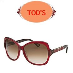 Tod's  butterfly frame sunglasses•burgundy/brown Lovely! This style is now discontinued by TOD'S and sold out everywhere. BNWT. Comes with leather Tod's case and insignia cleaning cloth. See picture 4 for specifics. Brand New! Tod's Accessories Sunglasses