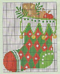 Gráfico Pt Cruz - Botas de Natal