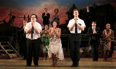 """The Book of Mormon,"" a collaboration between the creators of ""South Park"" and the composer of ""Avenue Q,"" is that rare thing: an old-fashioned, pleasure-giving musical."