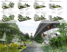 'Rethinking the derelict landscape' by liu yue hua proposes to transform an underutilised stretch ' Architecture People, Architecture Board, Modern Architecture, Modern Church, Community Space, House Stairs, Urban Furniture, Contemporary Design, Modern Farmhouse