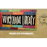 15-16 Annual Report for Wickham Elementary Library, ICCSD. Created by Teacher Librarian Michael Schlitz with PowToon.