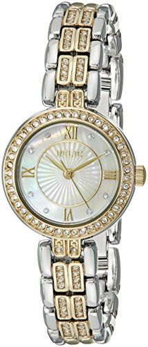 Relic Women's ZR34343 Haven Analog Display Analog Quartz Gold Watch. Case diameter: 25 mm. Case thickness: 7.2 mm. Analog-quartz Movement. Case Diameter: 25mm. Water Resistant To 99 Feet.