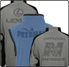 Laser Engraved Fleece Jackets  The Moritz Embroidery Works, Inc.