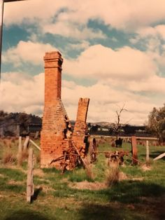 The 2 brick chimneys which stood at the Kelly hut site. They were built by Andes little sisters family when they built a new hut on this site. Nothing remains today Ned Kelly, Amazing Pics, Little Sisters, Hanging Out, Old Photos, Brick, Country, Old Pictures, Rural Area