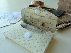 Card holder template.  Plantilla para un tarjetero