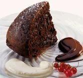 Bolo de Chocolate com Molho de Caramelo