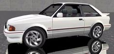 An boy racer's dream! Escort Mk1, Ford Escort, Gold Wheels, Car Wheels, Teething Problems, Creative Commons Photos, Black Radiators, T Shirt Photo, Old Fords