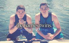 #FinnHarries #JackHarries. Really cute!