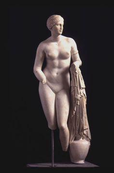 PRAXITELES---sculptor Cridian Aphrodite 350- 40 B.C.