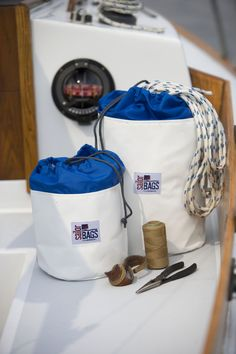 Keep the boat organized. SAIL . TRAIN . EXPLORE: Adventure Sailing  www.rubicon3.co.uk