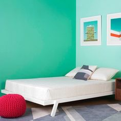 Blu Dot x Fab Angus King Bed White