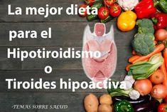 La mejor dieta para la tiroides hipoactiva