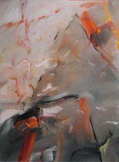 """SUSPEND YANTRA"" by artist Lloyd Brown. 18"" x 22"" oil on paper $1,200"