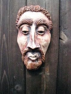 hand built ceramic masks - Google Search