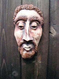 hand built ceramic masks - Google Search