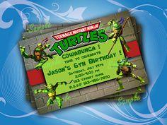 Teenage Mutant Ninja Turtles Inspired Birthday by notoprojo