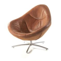 Gerard Van Den Berg Hidde Armchair - Hidde presently is the hot item in the Label-collection. Low Chair, Cool Couches, House Landscape, Mid Century Furniture, House Colors, Interior Design Living Room, Armchair, Swivel Chair, Vintage