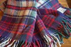 #Scottish #tartanplaid #wool blanket - SOLD! :)