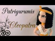 DIY Cleopatra Amigurumi en ganchillo-Crochet - YouTube