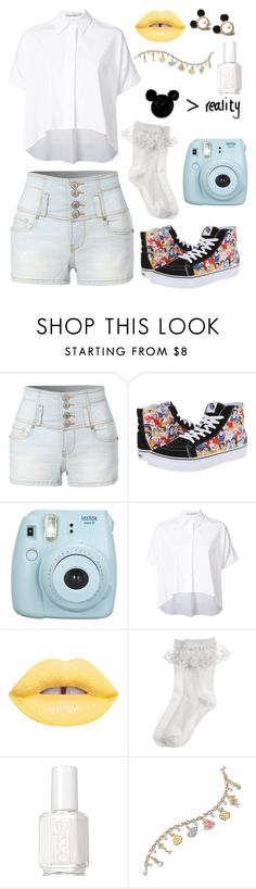"""""""Chances are we'll find two destinations (rtd)"""" by bandumb ❤ liked on Polyvore featuring LE3NO, Vans, Fujifilm, Alice + Olivia, Monsoon, Essie, The Bradford Exchange and Mawi"""