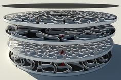 Futuristic Multi Level Labyrinth