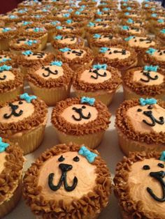 Alpha Delta Pi Cupcakes - super cute with the little bow