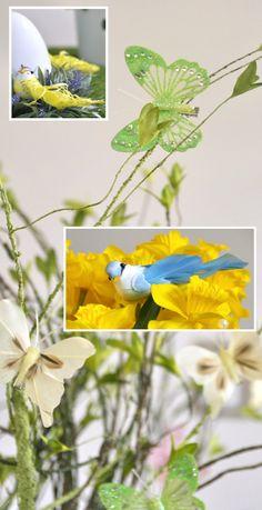Wiosna to nie tylko kwiaty. Pojawiły się już piękne motyle oraz kolorowe ptaki. W naszej hurtowni również możecie znaleźć nowe wiosenne kolekcje. Zapraszamy! Plants, Plant, Planets