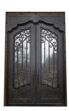 Madison Iron Door
