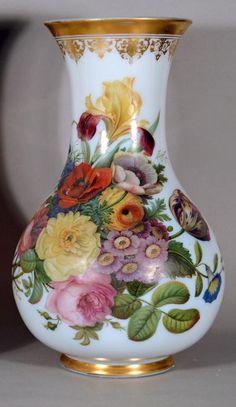 Porcelain Tile From China Key: 5105030258 Porcelain Jewelry, Fine Porcelain, Porcelain Ceramics, Painted Porcelain, Porcelain Tiles, Hand Painted, Embroidery Designs, Homemade Home Decor, Crystal Vase