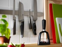GRUNDTAL Rail, $9.99: So basic yet so versatile. The Grundtal rail and the wall shelf ($14.99) are one of our go-to kitchen storage solutions.