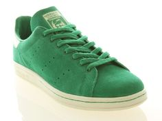 Adidas originals tan smith 80's green suede