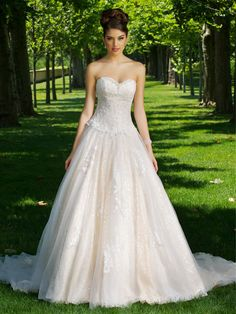 Cheap robe de mariee, Buy Quality wedding gowns directly from China wedding dress backless Suppliers: 2017 Sweetheart Neck Tulle A-Line Garden Court Train Wedding Dresses Backless Bridal Wedding Gowns Hochzeitskleid Robe De Mariee Wedding Dresses 2014, Country Wedding Dresses, Cheap Wedding Dress, Bridal Dresses, Wedding Gowns, Tulle Wedding, Wedding Pics, Wedding Things, Wedding Blog