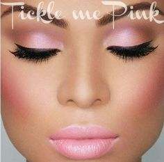 Tickle me pink, just plain refreshing.. you can only get these colors and look with Younique by Shauna Elkins