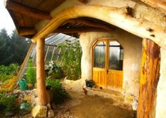 the eco friendly hobbit house | Wales
