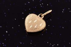 Zlatý přívěsek srdce P047 14kt,0,30g Personalized Items