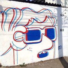 Artist @muretz #wallart #mural #drawing #painting #arteurbano #streetart #sprayart #spraypaint #graphicdesign #contemporaryart