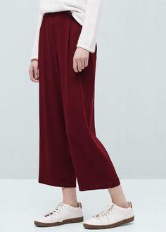 Spodnie crop | MANGO