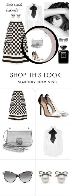 """""""class"""" by ilaria-lookmaker ❤ liked on Polyvore featuring Valentino, Gianvito Rossi, Michael Kors, Chanel, Polo Ralph Lauren, STELLA McCARTNEY, women's clothing, women, female and woman"""