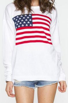 Flag sweater!!!