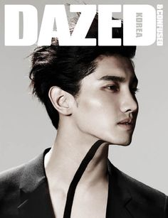 TVXQ's Changmin models in Armani for 'Dazed & Confused' #allkpop #kpop #TVXQ #Fashion