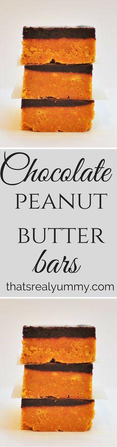 Decadent peanut butter chocolate slice, plus it's sugar free!