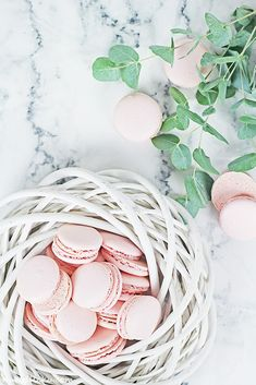 Macaron Tutorial / Jak na makronky I Foods, Macarons, Holiday Recipes, Christmas Holidays, Yummy Food, Easter, Throw Pillows, Blog, Vsco