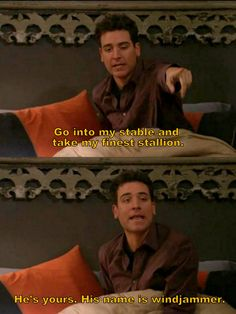 One of my favorite Ted Mosby lines. #himym