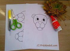 Leul- colaj cu frunze de toamnă – Jurnal de prichindei