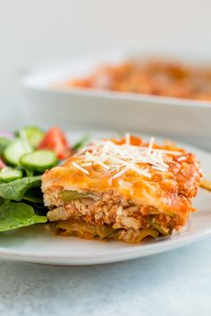 Low carb healthy lasagna made with zucchini noodles and tofu This vegetarian main is packed with protein and loaded with Italian flavor Vegetarian glutenfree gluten. Vegetarian Zucchini Lasagna, Tofu Lasagna, Healthy Lasagna, Tofu Scramble, Healthy Foods To Eat, Healthy Recipes, Vegetarian Recipes, Healthy Man, Dinner Healthy
