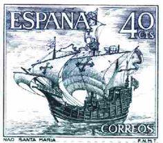 Spanish 40 centavo stamp, 1964