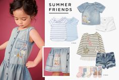 Fleur | Younger Girls 3mths–6yrs | Girls Clothing | Next Official Site - Page 5