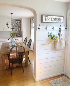 Who else is thinking about about a shiplap entry? , Who else is thinking about about a shiplap entry? Who else is thinking about about a shiplap entry? Always wanted to learn how. Easy Home Decor, Home Decor Items, Styles Of Home Decor, Home Interior, Interior Design, Interior Modern, Interior Colors, Interior Livingroom, Interior Plants